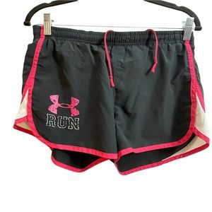 Under Armour Loose Black Athletic Running Shorts